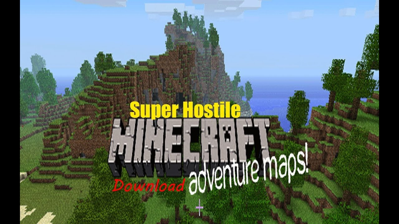 Minecraft Xbox 360 Adventure Map (SUPER HOSTILE) Download ...