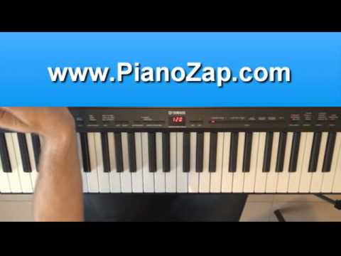 How To Play Every Teardrop Is A Waterfall Coldplay On Piano
