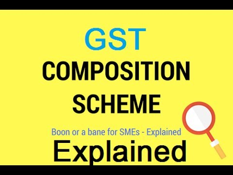 GST Composition Scheme for Small Business |Composite Dealer in GST| No need to file Monthly Returns