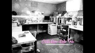 Craft Room Redo Tour 2019 ***Jessica Grace***