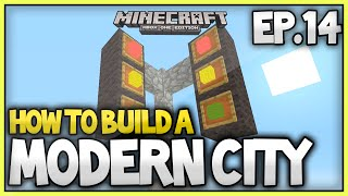 Minecraft Xbox - How To Build A Modern City (EP.14) - Traffic Lights Tutorial