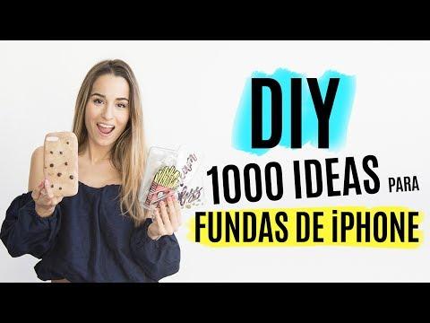 048ec4bd181 DIY 1000 ideas para hacer fundas de iPhone | Tumblr - YouTube