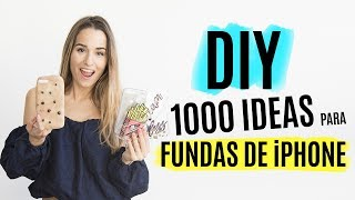 DIY 1000 ideas para hacer fundas de iPhone | Tumblr