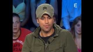 Enrique Iglesias - On n'est pas couché 22 mars 2008 #ONPC