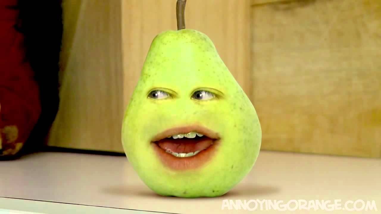 Annoying Orange Annoying Pear nuskin 짜증나는 오렌지 - YouTube