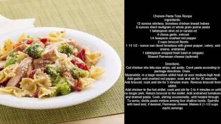 Chicken Pasta Toss Recipe