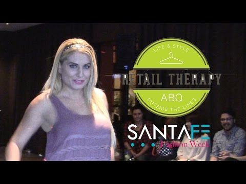 Santa Fe Fashion Week Film & Fashion with Retail Therapy Albuquerque ABQ RAW Video
