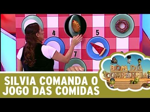 Bom Dia e Cia. (18/05/16) - Silvia Abravanel comando o Jogo das Comidas