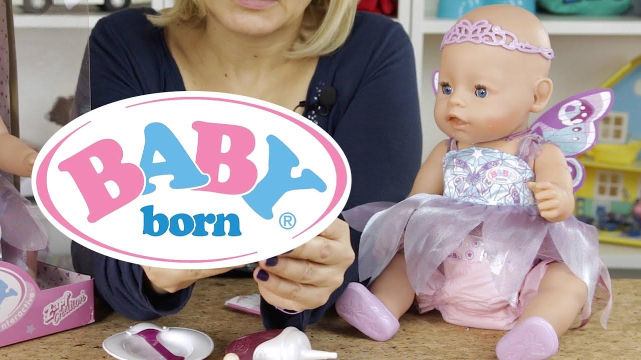 Baby Born Lalka Interaktywna Wonderland Youtube