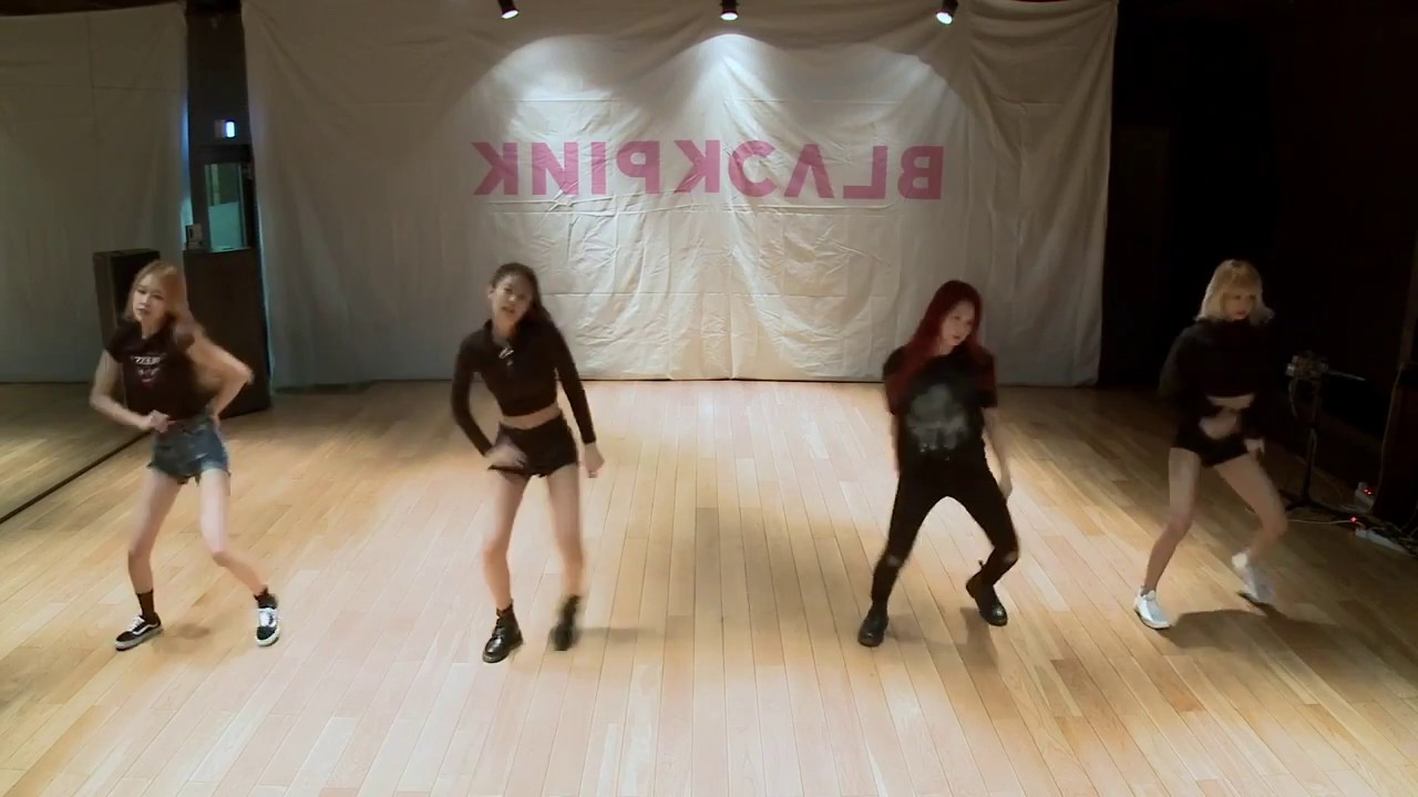 Mirrored Blackpink Playing With Fire Dance Practice Video