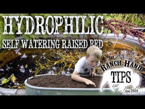 SIP WATERING Raised Bed Garden - Ranch Hand Tips