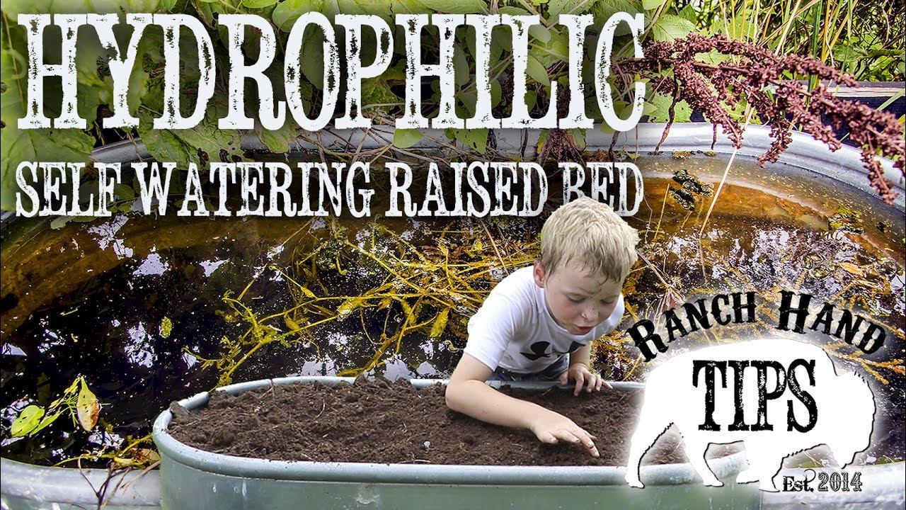 SIP WATERING Water Trough Garden   Ranch Hand Tips