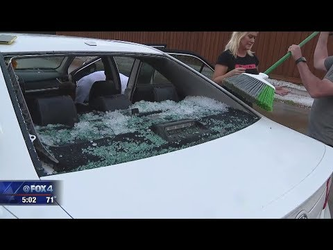Severe storms and major hail damage in Frisco and McKinney
