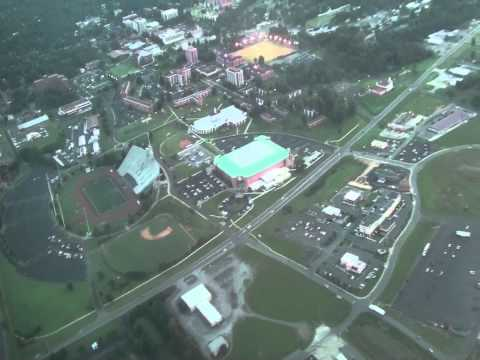 Murray, KY from the sky, provided by Murray Plaza Lodge