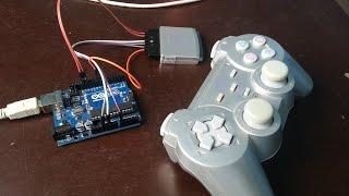 Como utilizar un joystick de playstation 2, con Arduino