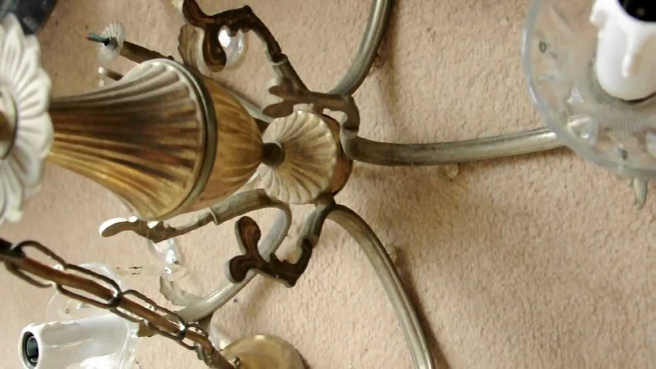 Diy Rewiring A Chandelier Free Wiring Diagram For You By Class Chandeliers Youtube Rh Com Rewire Antique