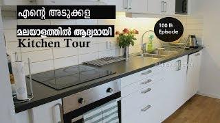 എന്റെ അടുക്കള | Kitchen Tour Sweden | My Kitchen Tour in Malayalam | Oreo Fruit Shake |Ep : 100