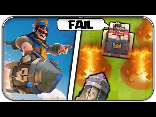 Die GRÖSSTEN Rocket Fails - ChiefPat Style | Clash Royale Funny Moments Deutsch German