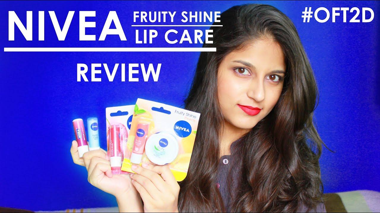 New Nivea Fruity Shine Lip Care Review Oft2d Youtube Balm 48g