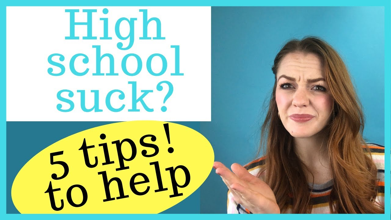 What to do when high school is not going to plan