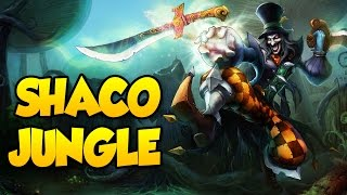 SHACO JUNGLE - GOTTA WIN THIS - LEAGUE OF LEGENDS RANKED