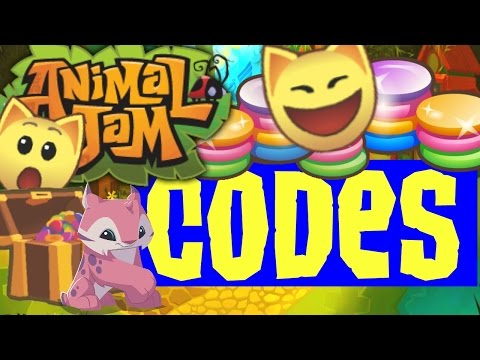 Animal Jam - Codes {Working August 2016}