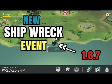 NEW SHIP WRECK EVENT - 1.6.7 UPDATE - LAST DAY ON EARTH: SURVIVAL