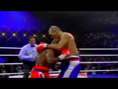 """Evander """"The real Deal"""" Holyfield vs Nikolai """"The Russian Giant"""" Valuev"""