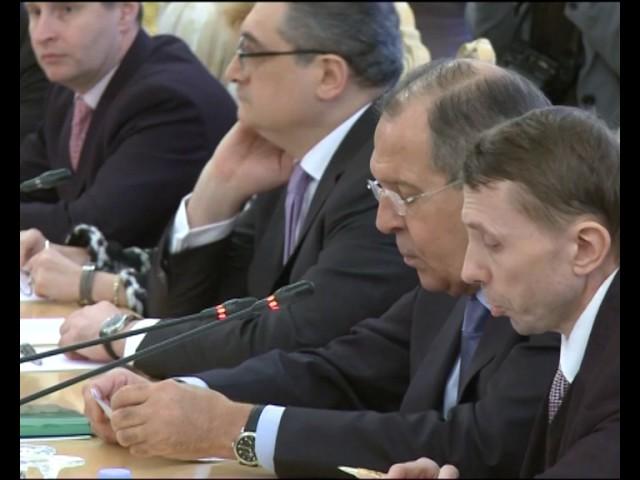Sergey Lavrov & Fumio Kishida│С.В.Лавров и Ф.Кисида