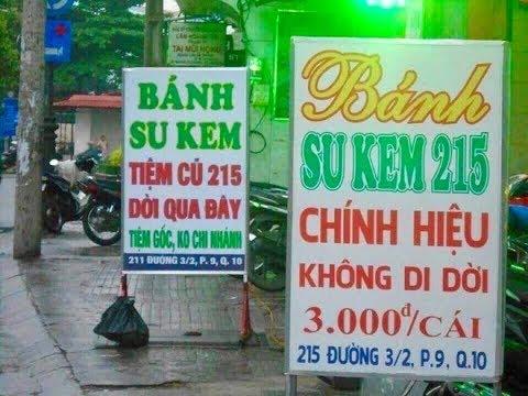 """""""Đau đầu"""" bánh su kem 215 ở Sài Gòn: Đâu là quán gốc, đâu là quán nhái?  VTV24"""