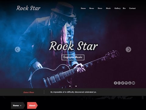 How To Create Music Website Using Free WordPress Theme