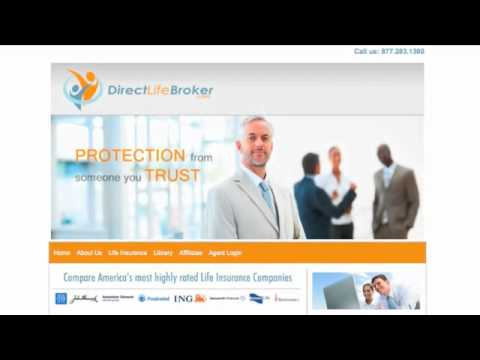 Direct Life Broker --- how to buy or sell life insurance via the web
