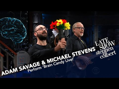Adam Savage And Michael Stevens Preview 'Brain Candy Live!'