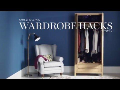 M&S Home: Space Saving Wardrobe Hacks & Ideas