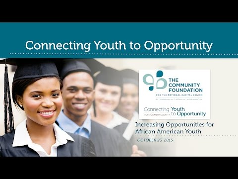Connecting Youth to Opportunity: African American Youth Study Report