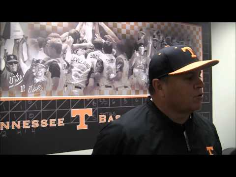 Tennessee baseball falls to Auburn on March 21, 2014