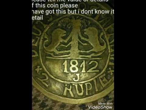 1812 Deutsch ostafrika rupie