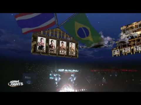 K-1 MAX FINAL 16 2009 - Buakaw Vs Dida - English Commentary 1/3