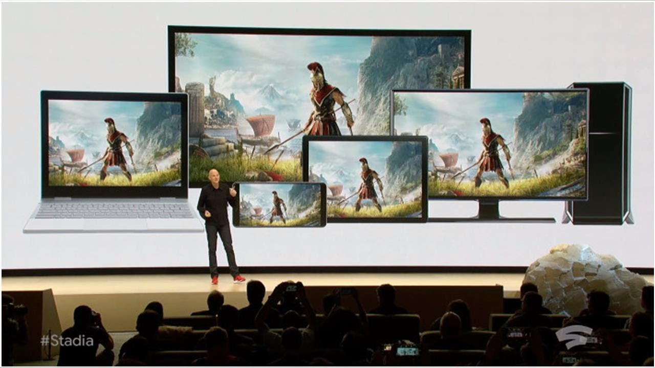 Google's Stadia game-streaming platform kills downloads and lets you play anywhere