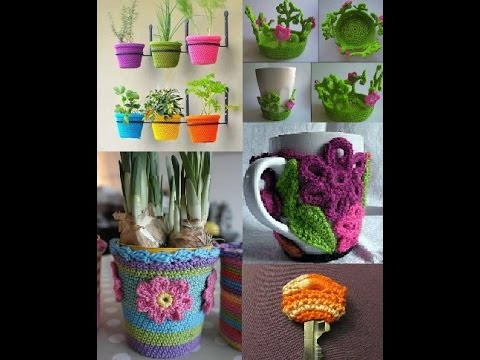 Creative crochet ideas for home decoration appliance youtube - Home interior decoration ideas ...