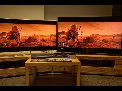 samsung 55 ks9090 uhd hdr tv mit quantum dot im testvideo doovi. Black Bedroom Furniture Sets. Home Design Ideas