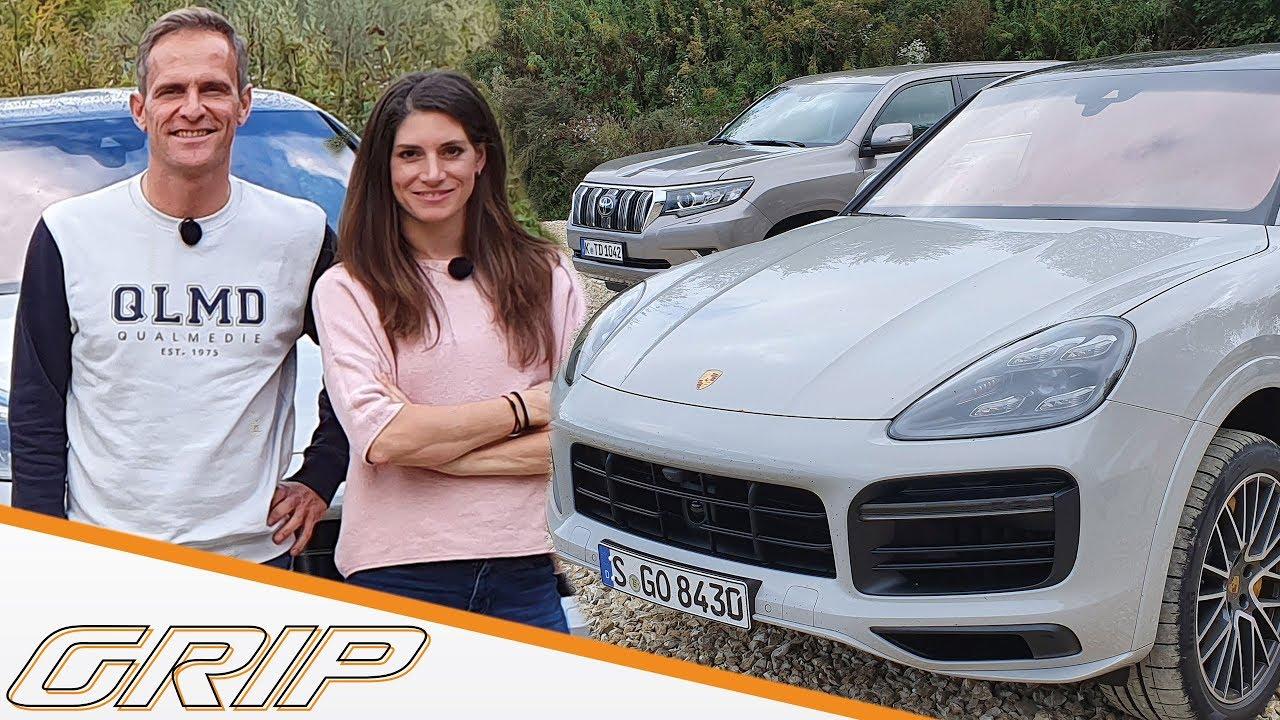 Porsche Cayenne Turbo S E-Hybrid Coupé im Dreikampf I GRIP