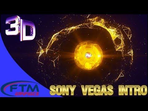 Football Swirl Logo Reveal - Sony Vegas Intro Template 3D