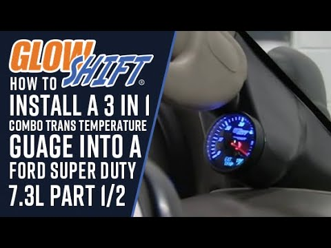 Glowshift How To Install A 3 In 1 Combo Trans