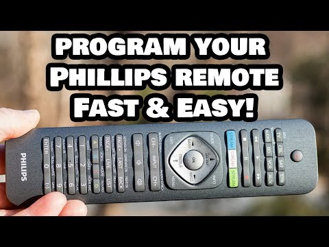 Programming Your Phillips Universal Remote Control to ANY