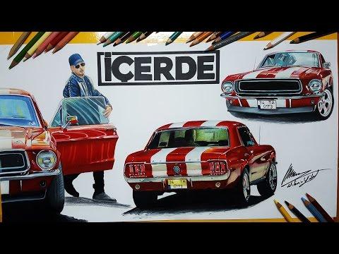 İÇERDE DİZİSİ ARABALARINI ÇİZDİM!   Araba Çizimleri   My Çizim