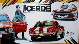 İÇERDE DİZİSİ ARABALARINI ÇİZDİM! | Araba Çizimleri | My Çizim