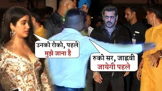 Jhanvi Kapoor Insult Salman Khan in Publicly at Mukesh Ambani Party | She Ignore Him