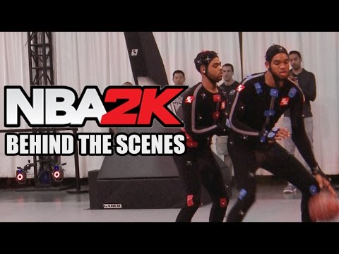 NBA 2K Motion Capture - Behind the Scenes