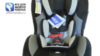 видео обзор Sparco F 500 K детское автомобильное кресло sparko f 500k